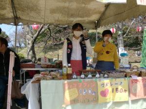 『第21回 黒塚桜祭り』に参加しました☆